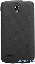Чехол-накладка для Huawei G610 Nillkin Super Frosted Shield (Black) (6076991)