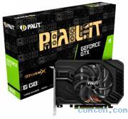 Видеокарта Nvidia GeForce GTX 1660 6 ГБ GDDR5 Palit PA-GTX1660 STORMX 6G (NE51660018J9-165F***)