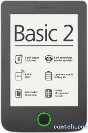 Электронная книга PocketBook 614 Basic 2 (PB614-Y-CIS)